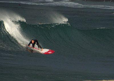 Cursos La duna paddle surf club Barrañan Arteixo Coruña